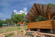 Вид на Волгу из реабилитационного центра Парус
